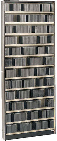 Winsted CD Storage Cabinet - holds 936 CDs