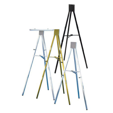 Testrite Display Easel 6FT Gold