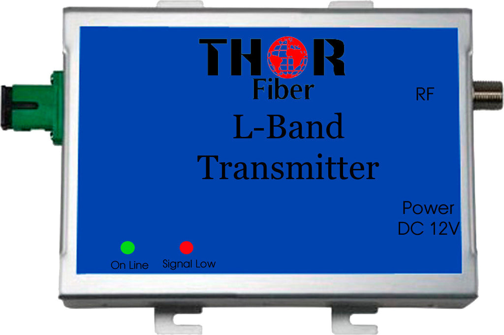Thor F-LBAND-Tx/Rx Satellite L-Band RF Over Fiber Transmitter and Receiver  kit