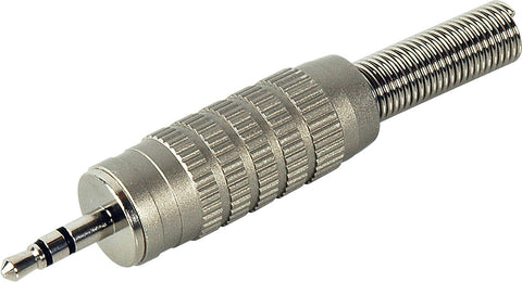 A high quality Image of Connectronics Deluxe 3.5mm TRS Male with Strain Spring for 1/4in cable O.D.