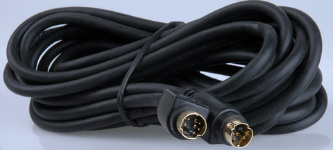A high quality Image of 4-Pin Male to 4-Pin Male S-Video Cable 15 Foot