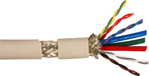 TecNec Triple Shielded HD/UXGA Cable with 3 Coax and 5 Twisted-Pair per Foot