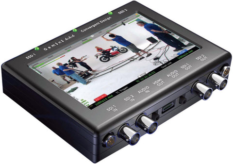 Convergent Design Gemini Recorder with Gemini RAW C500 4K Option and 2 SSDs Kit