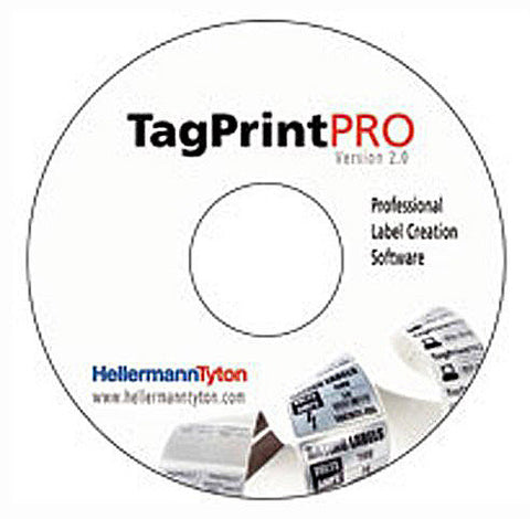 HellermannTyton TagPrint Pro Labeling Software Version 2.0