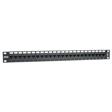 Tripp Lite N252-024 24-Port Cat6 Patch Panel 568B 1U