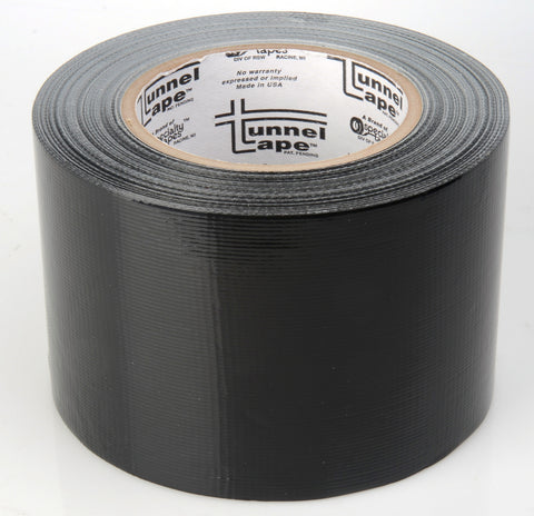 3 Inch Black Tunnel Tape 40 Yard Roll