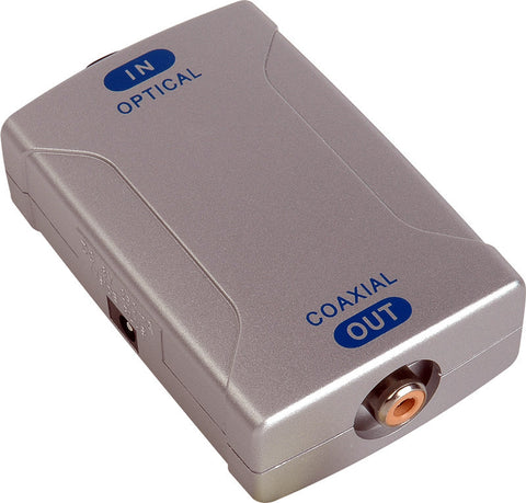 AV Tool POF-830 Optical to Coaxial Converter