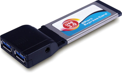 A high quality Image of 2 Port USB 3.0 Express Card Adapter