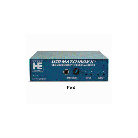 Henry Engineering USB Matchbox II USB-XLR Multi-Mode Stereo Codec