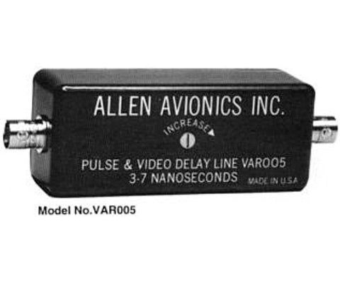 Allen Avionics Variable Video Delay Line 0 to 640 Nanoseconds with Fine Adjust