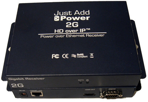 Just Add Power VBS-HDMI-208POE 2G Power Over Ethernet Receiver