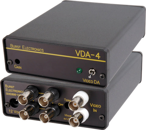 Burst MicroDA 1x4 Video Distribution Amplifier