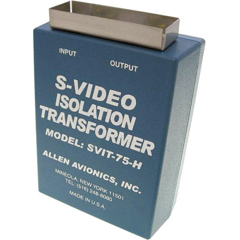 3 Channel Video Isolation Transformer