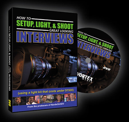 Vortex How To Set-Up Light And Shoot Great Looking Videos DVD