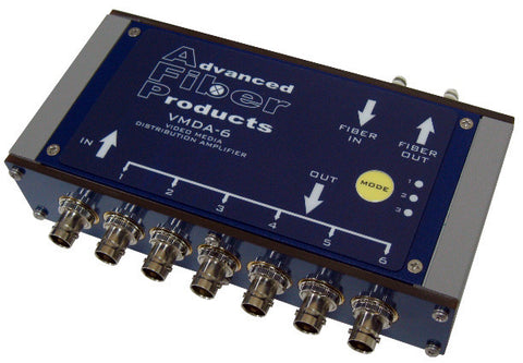 Advanced Fiber Products VMDA 3G-HD ST Fiber Optic & BNC Media Converter & Distribution Amplifier
