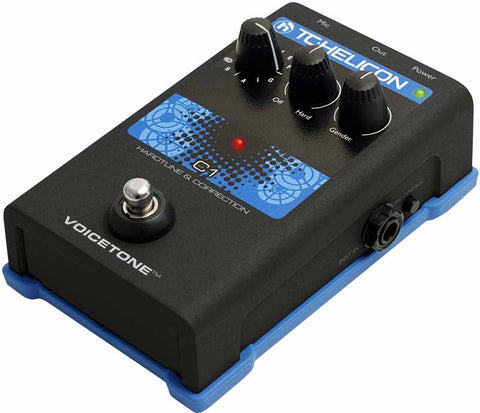 TC Electronic Helicon VoiceTone C1 Hardtune & Correction Pedal