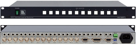 Kramer 12x1 Video & Stereo Audio Switcher