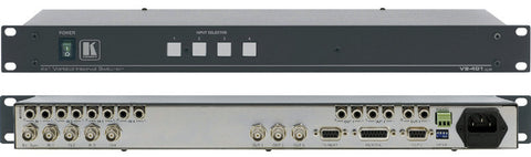 Kramer VS-401XLM 4x1 Video and Stereo Audio Switcher