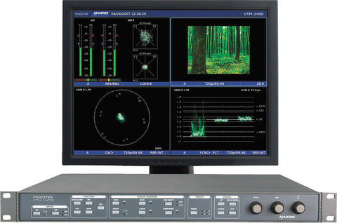 Harris VTM-2400 HD Multi-Format On-Screen Monitor