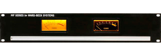Ward-Beck MP2(VU) Rackmount Dual VU Meter Panel