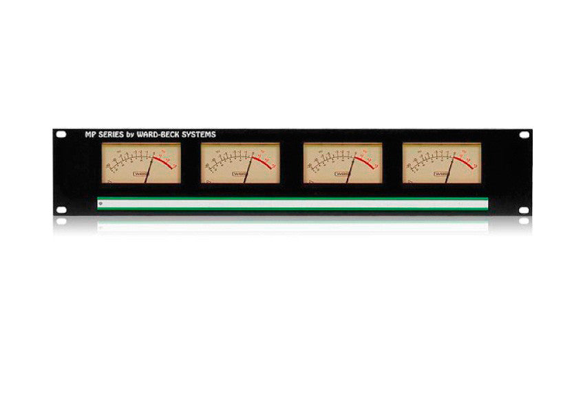 Ward-Beck MP4(VU) Rackmount Quad VU Meter Panel