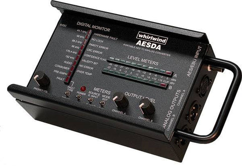 Whirlwind AESDA Portable AES Digital to Analog Converter
