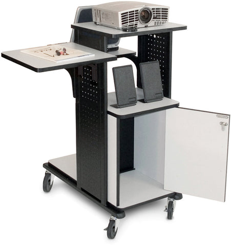 A high quality Image of H. Wilson WPS4HDCE Mobile Presentation Station with Locking Cabinet