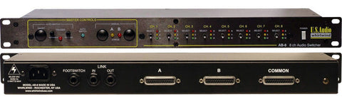 Whirlwind AB-8 8-Channel Mic/Line Switcher