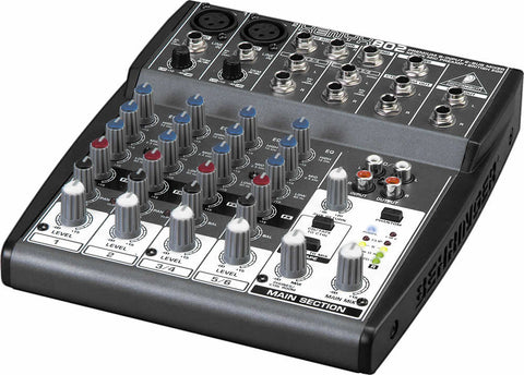 A high quality Image of Behringer XENYX 802 8-Input 2-Bus Mixer