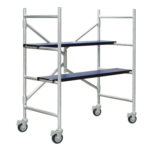 Xtend & Climb IMAC Aluminum Scaffolding with Wheels 4FT