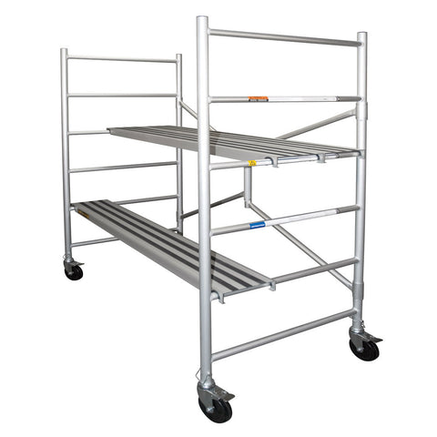 Xtend & Climb MAXI Aluminum Scaffolding with Wheels 6FT