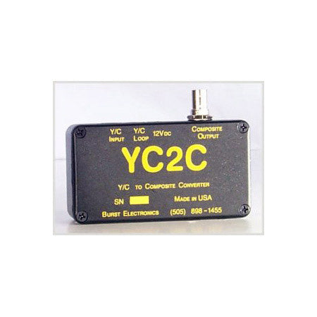 Burst YC2C YC to Composite Video Converter
