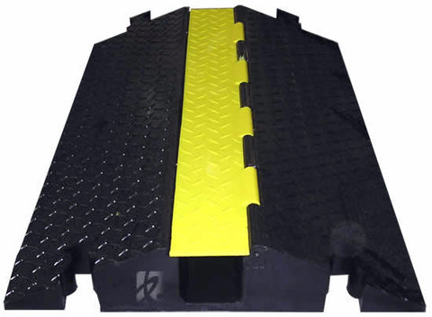 Checkers 3-Channel Yellow Jacket 45 Degee Right Turn