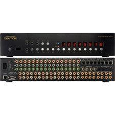 Zektor Prowler 8x8 Component Video Matrix with Analog/Digital Audio & 8 CAT5 Rx