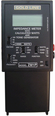 Gold Line Impedence Meter Plus Protection Relay