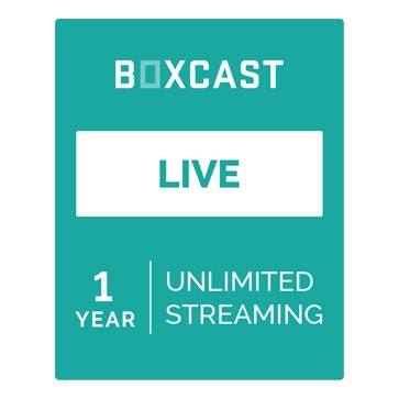 A high quality Image of BoxCast Live (1-Year Live Streaming Subscription)