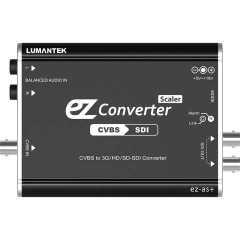 A high quality Image of Lumantek CVBS to 3G/HD/SD-SDI Converter with Scaler