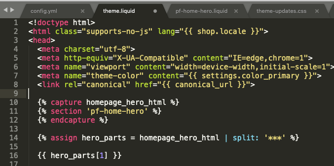 Capturing and outputting the link from a Shopify section to Preload the Hero Image