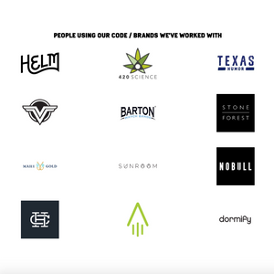 A custom shopify section for a grid of logos for clients or other portfolio items