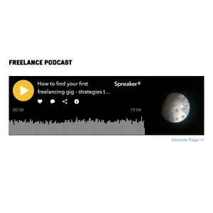 Shopify custom section for embedding a spreaker podcast episode in a shopify theme