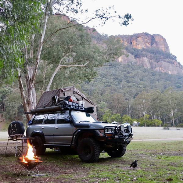 Newnes Ruins Campground