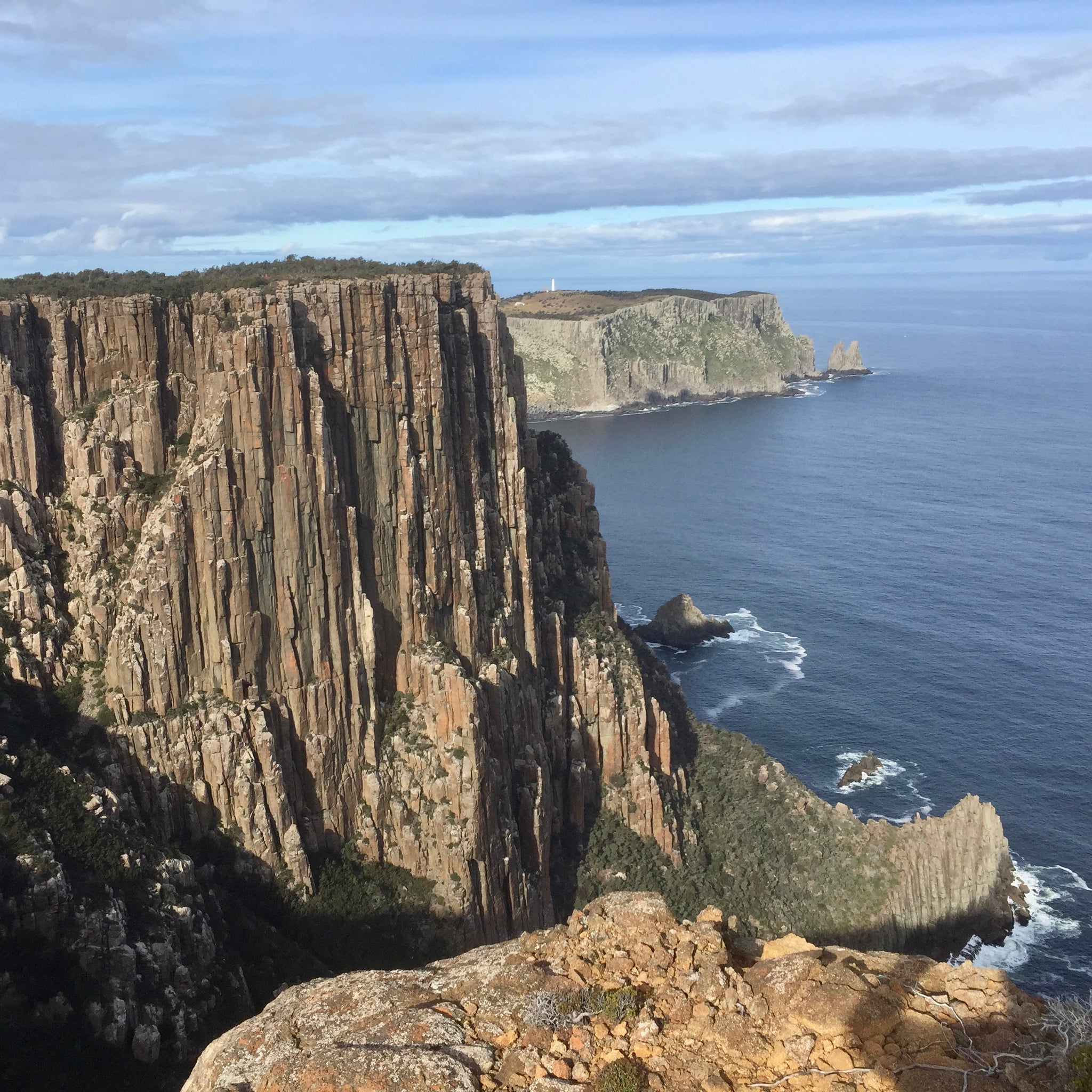 The Three Capes Track is one the most spectacular walks in Tasmania. The Three Capes Track is a 3 day walk in the South East of Tasmania. Walking the Three Capes Track can be done all year round and the crowds are thin in the middle of the year for Winter