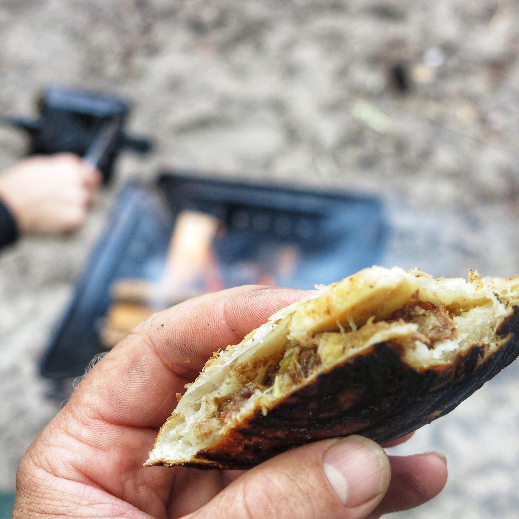 FRASER ISLAND PUFF PASTRY JAFFLES
