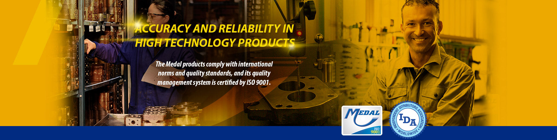 Accuracy and reliability in high technology products