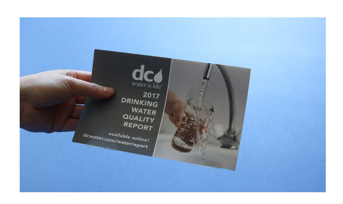 2017 Washington DC Tap Water Report:  What You Need To Know