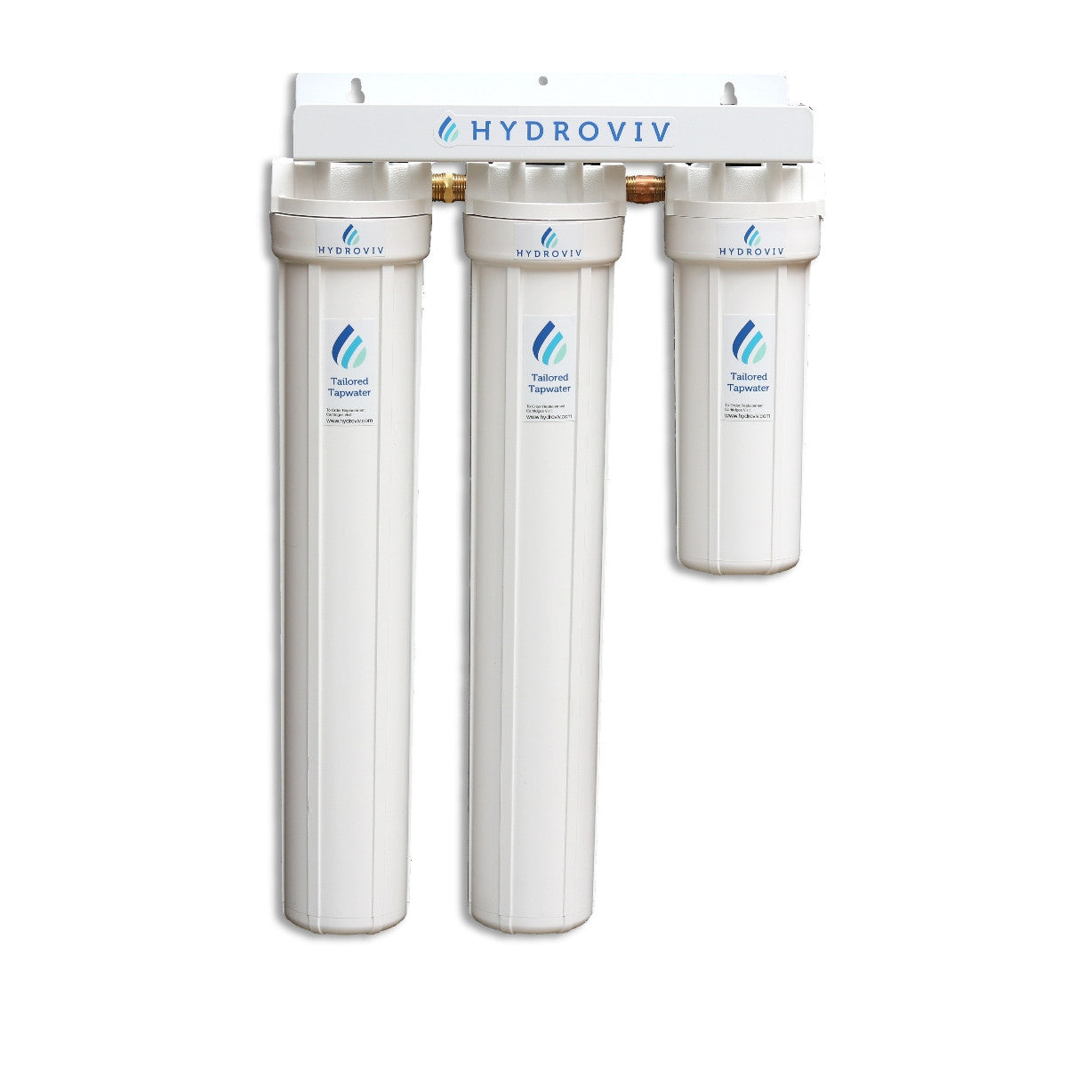 Water Filter For Coffee Shops & Restaurants (6 Stage, Triple Housing)