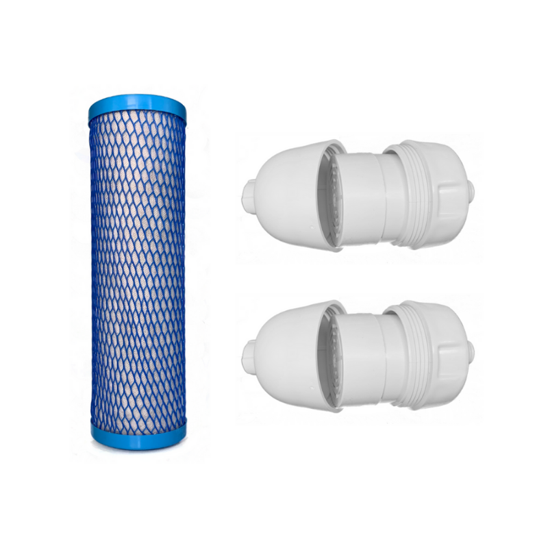 Faucet & 2 Shower Filter Bundle Replacement Cartridges