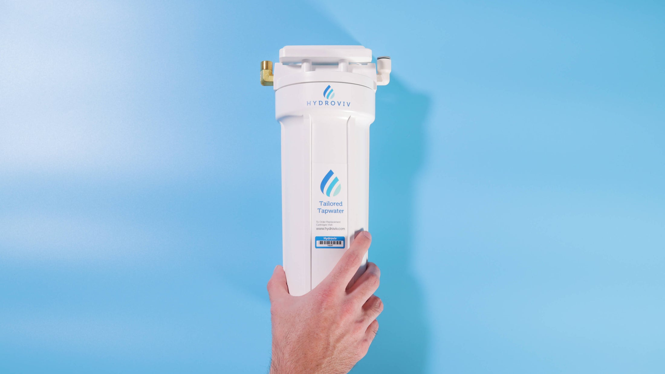 Hydroviv Under Sink Water Filter (Connects To Your Faucet)