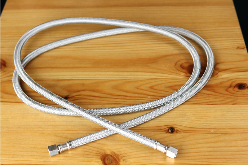 Braided Stainless Steel Water Line Refrigerator Water