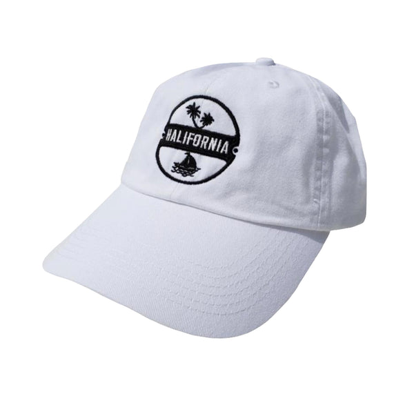 BROOKLYN Dad Cap White
